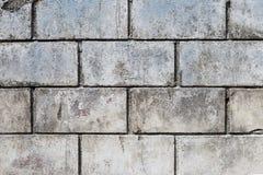 Abstrakcjonistyczna Stara cementu bloku ściana Obraz Royalty Free