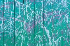 Abstrakcjonistyczna Stara malująca drewno ściana 1 Obraz Royalty Free