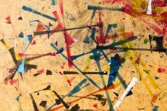 Abstrakcjonistyczna studio powierzchnia Zdjęcie Stock