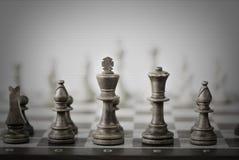 abstrakcjonistyczna szachowa gra Zdjęcie Royalty Free