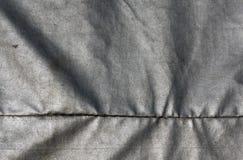 Abstrakcjonistyczna szara wodoodporna tekstylna tekstura Obrazy Stock