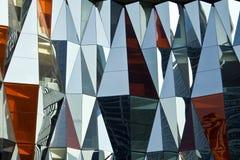 abstrakcjonistyczna szklana ściana Zdjęcie Royalty Free