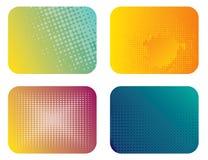 abstrakcjonistyczna sztandaru koloru ilustracja ilustracja wektor