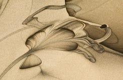 abstrakcjonistyczna sztuka ilustracji