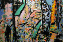 abstrakcjonistyczna sztuka Obraz Royalty Free