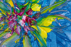 abstrakcjonistyczna sztuka Fotografia Royalty Free