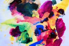 Abstrakcjonistyczna sztuka Fotografia Stock