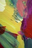 abstrakcjonistyczna sztuka Zdjęcie Royalty Free
