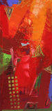 abstrakcjonistyczna sztuka Zdjęcia Stock