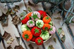 Abstrakcjonistyczna sztuka, owocowy handmade, Wietnam Tet Obraz Stock