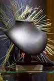 Abstrakcjonistyczna sztuka współczesna w popiersie kształcie Zdjęcia Stock