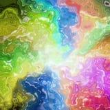 Abstrakcjonistyczna tęcza barwiąca plami tło Zdjęcie Stock