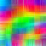 Abstrakcjonistyczna tęcza zamazywać linie barwią pluśnięcie farby sztuki tło Obraz Stock