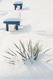 abstrakcjonistyczna tła śniegu zima Obrazy Royalty Free