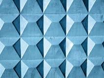 abstrakcjonistyczna tła błękit kwadrata tekstury ściana Obrazy Stock