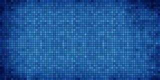 abstrakcjonistyczna tła błękit mozaika Obrazy Stock