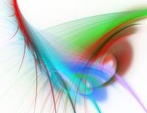 abstrakcjonistyczna tła błękitny zieleni czerwień Zdjęcie Royalty Free