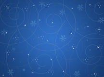 abstrakcjonistyczna tła bożych narodzeń zima Zdjęcie Stock