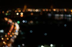 abstrakcjonistyczna tła bokeh kurenda zdjęcie royalty free