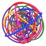 abstrakcjonistyczna tła colour linia ołówek ilustracji