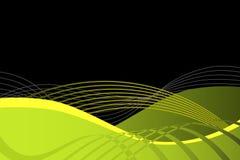 abstrakcjonistyczna tła czerń zieleń Zdjęcia Stock
