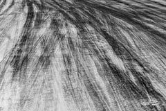 Abstrakcjonistyczna tła czerni opona tropi na cementowej drodze, opona ślad Obrazy Stock