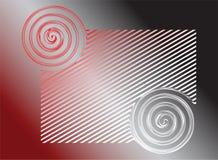 abstrakcjonistyczna tła grey czerwień Zdjęcia Stock