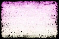 abstrakcjonistyczna tła grunge muzyka o temacie Zdjęcia Royalty Free