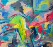 abstrakcjonistyczna tła koloru woda zdjęcie stock