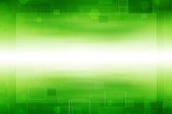 abstrakcjonistyczna tła kopii zieleni technologii kosmicznej tapeta royalty ilustracja