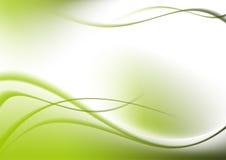 abstrakcjonistyczna tła krzyw zieleń
