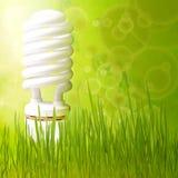 abstrakcjonistyczna tła pojęcia energii zieleń save fotografia royalty free