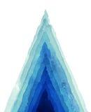 abstrakcjonistyczna tła ręka malująca akwarela royalty ilustracja