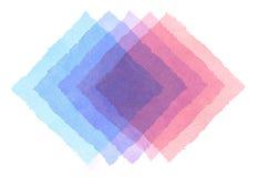 abstrakcjonistyczna tła ręka malująca akwarela Zdjęcia Stock