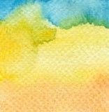 abstrakcjonistyczna tła ręka malująca akwarela Obraz Stock