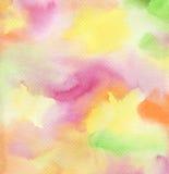 abstrakcjonistyczna tła ręka malująca akwarela Zdjęcie Royalty Free