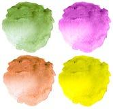 abstrakcjonistyczna tła ręka malująca akwarela Zdjęcie Stock