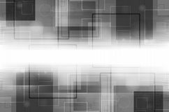 abstrakcjonistyczna tła szarość technologia ilustracja wektor