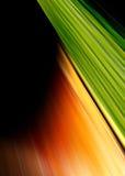 abstrakcjonistyczna tła zieleni pomarańcze Obraz Stock