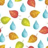 Abstrakcjonistyczna tło jesień ilustracji