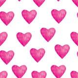 Abstrakcjonistyczna tło serc miłość Zdjęcia Royalty Free