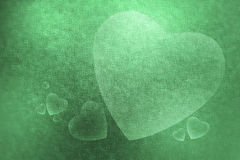 Abstrakcjonistyczna tło tekstura dużego i małego serce dla valen Zdjęcia Royalty Free