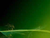 abstrakcjonistyczna tło zieleń Zdjęcie Stock