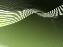 abstrakcjonistyczna tło zieleń Obrazy Royalty Free