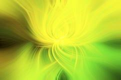 Abstrakcjonistyczna tło zieleń, kolor żółty i zdjęcie royalty free