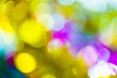abstrakcjonistyczna tła bokeh koloru grafika Zdjęcia Royalty Free