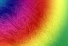 Abstrakcjonistyczna tęcza Zdjęcie Royalty Free