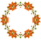 abstrakcjonistyczna tła fractal rama Obraz Royalty Free