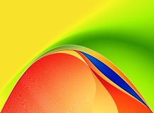 abstrakcjonistyczna tła koloru ilustracja Obraz Stock