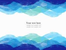 abstrakcjonistyczna tła koloru ramy woda Fotografia Royalty Free